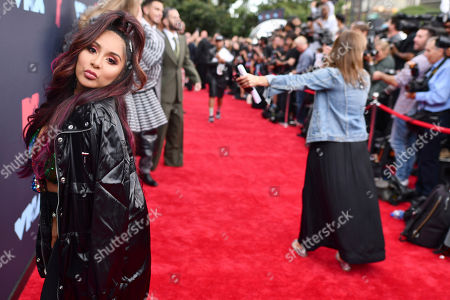 Nicole Polizzi, also known as Snooki, arrives at the MTV Video Music Awards at the Prudential Center, in Newark, N.J