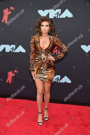 Chanel West Coast arrives at the MTV Video Music Awards at the Prudential Center, in Newark, N.J