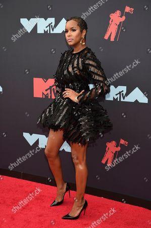 LeToya Luckett arrives at the MTV Video Music Awards at the Prudential Center, in Newark, N.J
