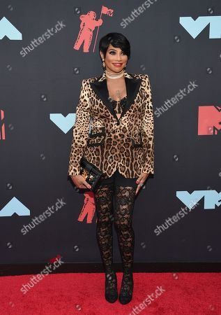 Sandra Denton arrives at the MTV Video Music Awards at the Prudential Center, in Newark, N.J