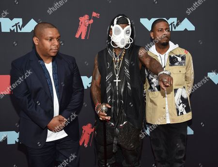 Vin Rock, Treach, DJ Kay Gee. Vin Rock, Treach, and DJ Kay Gee of Naughty By Nature arrive at the MTV Video Music Awards at the Prudential Center, in Newark, N.J