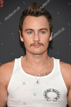 Brandon Thomas Lee arrives at the MTV Video Music Awards at the Prudential Center, in Newark, N.J