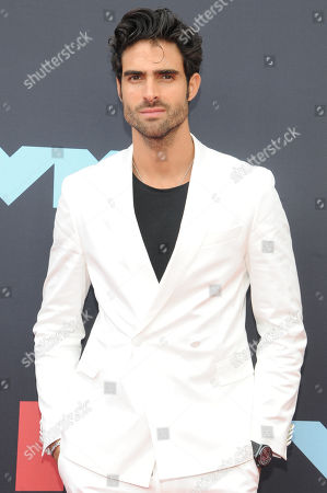 Juan Betancourt arrives on the red carpet for the 2019 MTV Video Music Awards at Prudential Center in Newark, New Jersey, USA, 26 August 2019