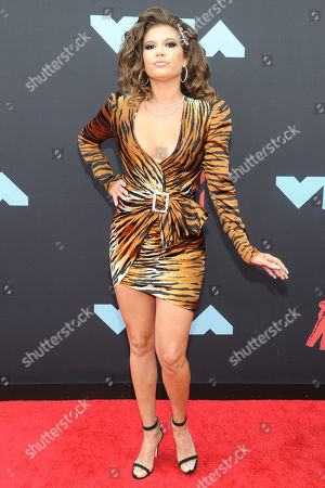Chanel West Coast arrives on the red carpet for the 2019 MTV Video Music Awards at Prudential Center in Newark, New Jersey, USA, 26 August 2019