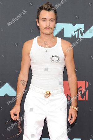 Brandon Lee arrives on the red carpet for the 2019 MTV Video Music Awards at Prudential Center in Newark, New Jersey, USA, 26 August 2019