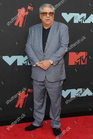 Vincent Pastore arrives on the red carpet for the 2019 MTV Video Music Awards at Prudential Center in Newark, New Jersey, USA, 26 August 2019