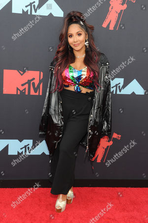 Nicole Polizzi arrives on the red carpet for the 2019 MTV Video Music Awards at Prudential Center in Newark, New Jersey, USA, 26 August 2019