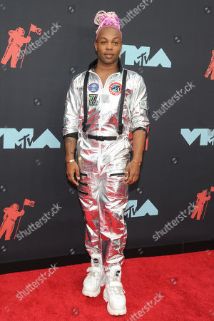 Todrick Hall arrives on the red carpet for the 2019 MTV Video Music Awards at Prudential Center in Newark, New Jersey, USA, 26 August 2019