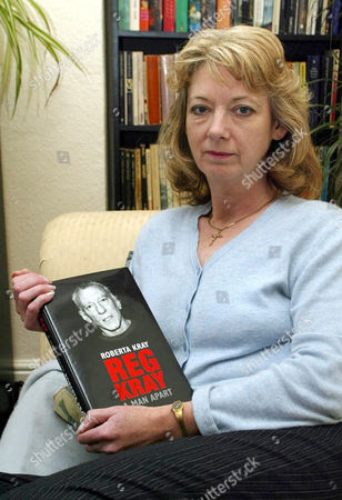 Roberta Kray with her book 'Reg Kray: A Man Apart'