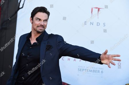 "Jay Ryan arrives at the Los Angeles premiere of ""It: Chapter 2"" at the Regency Village Theatre on"