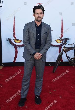 """Andy Bean arrives at the Los Angeles premiere of """"It: Chapter 2"""" at the Regency Village Theatre on"""