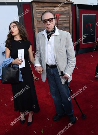 "Peter Bogdanovich arrives at the Los Angeles premiere of ""It: Chapter 2"" at the Regency Village Theatre on"