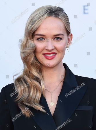 """Stock Photo of Jessica Weixler arrives at the Los Angeles premiere of """"It: Chapter 2"""" at the Regency Village Theatre on"""