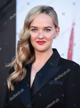 """Jessica Weixler arrives at the Los Angeles premiere of """"It: Chapter 2"""" at the Regency Village Theatre on"""