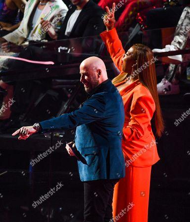 Queen Latifah and John Travolta