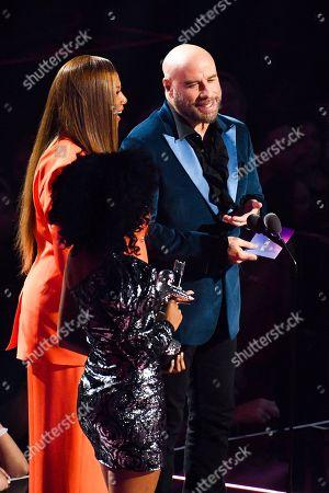 Stock Photo of Queen Latifah and John Travolta