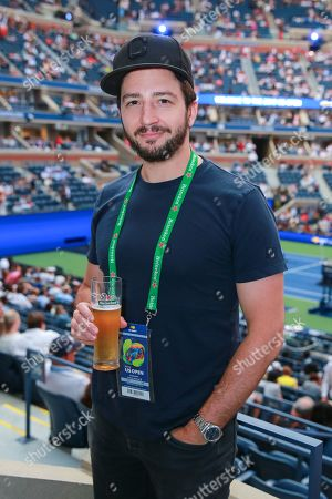 John Magaro stops by the Heineken suite during opening night