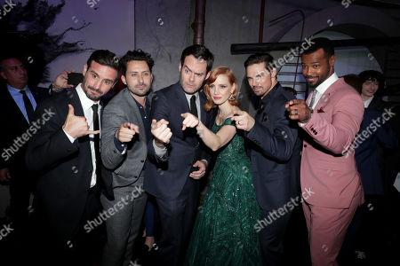 James Ransone, Andy Bean, Bill Hader, Jessica Chastain, Jay Ryan, Isaiah Mustafa