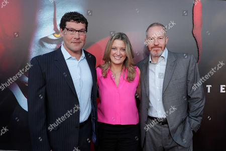 Richard Brener, President & Chief Creative Officer, New Line Cinema, Carolyn Blackwood, President and Chief Content Officer, New Line Cinema, Toby Emmerich, Chairman, Warner Bros. Pictures Group,
