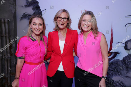 Blair Rich, President, Worldwide Marketing, Warner Bros. Pictures Group and Warner Bros. Home Entertainment, Ann Sarnoff, Chair and CEO, Warner Bros., Carolyn Blackwood, President and Chief Content Officer, New Line Cinema,