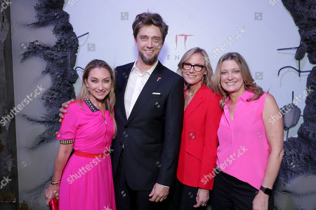 Blair Rich, President, Worldwide Marketing, Warner Bros. Pictures Group and Warner Bros. Home Entertainment, Andy Muschietti, Director, Ann Sarnoff, Chair and CEO, Warner Bros., Carolyn Blackwood, President and Chief Content Officer, New Line Cinema,