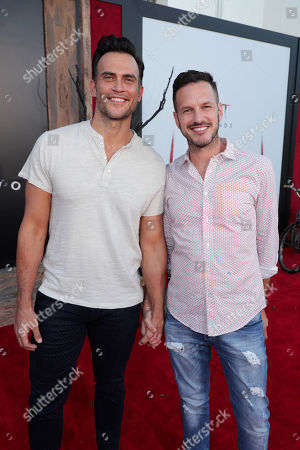 Stock Photo of Cheyenne Jackson, Jason Landau