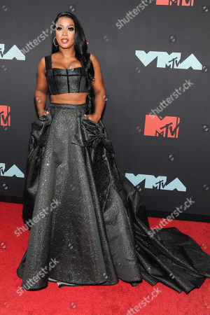 Remy Ma arrives on the red carpet for the 2019 MTV Video Music Awards at the Prudential Center in Newark, New Jersey, USA, 26 August 2019.