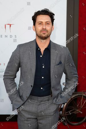 Andy Bean arriving for the world premiere of Warner Bros. Pictures' It Chapter Two at the Regency Village Theater in Westwood, Los Angeles, California, USA 26 August 2019. The movie opens in the US 06 September 2019.