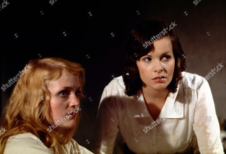 Mary Healey, as Ruby, and Carolyn Courage, as Christine