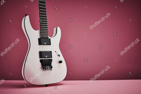 A Jackson Pro Series Mick Thomson Sl2 Soloist Electric Guitar With A Snow White Finish