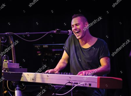 London United Kingdom - July 25: English Vocalist And Multi-instrumentalist Joe Payne Performing Live On Stage At Boston Music Room In London On July 25