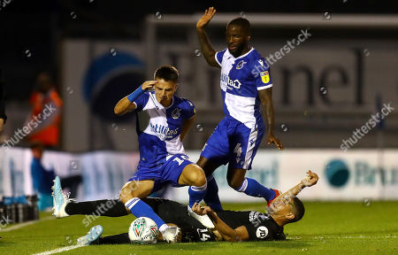 Editorial photo of Bristol Rovers v Brighton and Hove Albion, EFL Carabao Cup, Second Round, Football, Memorial Stadium, UK - 27 Aug 2019