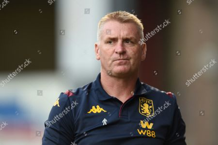 27th August 2019 , Gresty Road, Crewe, England; Carabao Cup Football, Second Round, Crewe Alexandrea vs Aston Villa ; Dean Smith manager of Aston Villa arrives for kick off Credit: Richard Long/News Images English Football League images are subject to DataCo Licence