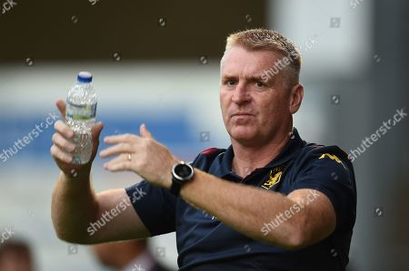 27th August 2019 , Gresty Road, Crewe, England; Carabao Cup Football, Second Round, Crewe Alexandrea vs Aston Villa ; Dean Smith manager of Aston Villa before kick off Credit: Richard Long/News Images English Football League images are subject to DataCo Licence