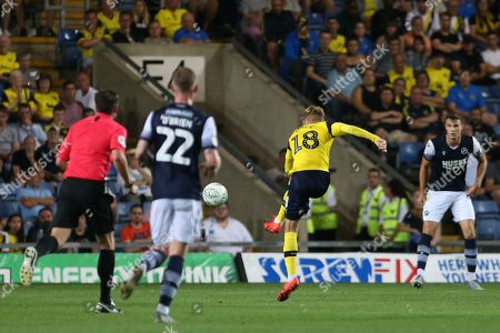 Editorial photo of Oxford United v Millwall, EFL Carabao Cup, Second Round, Football, Bramall Lane, UK - 27 Aug 2019