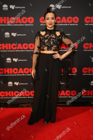 Editorial picture of 'Chicago' musical opening night, The Capitol Theatre, Sydney, Australia - 27 Aug 2019
