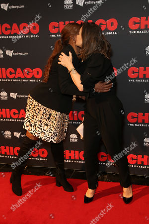 Stock Picture of Marcia Hines, Lisa Wilkinson