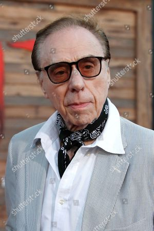 Stock Photo of Peter Bogdanovich arrives for the world premiere of the Warner Bros. Pictures 'It - Chapter Two' at the Regency Village Theater in Westwood, Los Angeles, California, USA, late 26 August 2019 (issued 27 August 2019). The movie will be shown in the US from 06 September 2019.