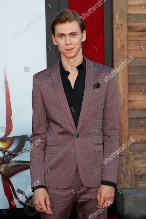 Owen Teague arrives for the world premiere of the Warner Bros. Pictures 'It - Chapter Two' at the Regency Village Theater in Westwood, Los Angeles, California, USA, late 26 August 2019 (issued 27 August 2019). The movie will be shown in the US from 06 September 2019.
