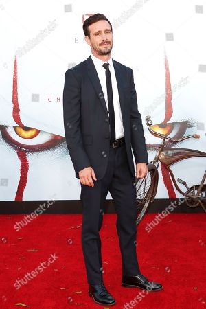 James Ransone arrives for the world premiere of the Warner Bros. Pictures 'It - Chapter Two' at the Regency Village Theater in Westwood, Los Angeles, California, USA, late 26 August 2019 (issued 27 August 2019). The movie will be shown in the US from 06 September 2019.