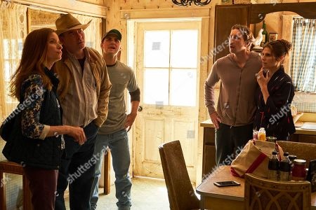 Lennon Parham as Kay Bowman, David Koechner as Beau Bowman, JT Neal as Jacob, Dax Shepard as Mike and Lake Bell as Rio