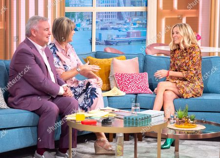 Eamonn Holmes and Ruth Langsford with Fearne Cotton
