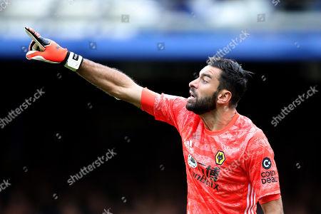 Wolverhampton Wanderers goalkeeper Rui Patricio