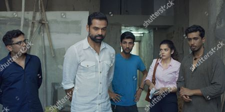 Rupesh Tillu as Well Dressed Convict, Abhay Deol as Artist and Mithila Palkar as Nirma