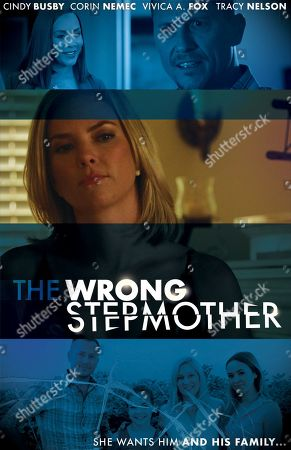 The Wrong Stepmother (2019) Poster Art. Vivica A. Fox as Ms. Price, Cindy Busby as Maddie and Corin Nemec as Michael