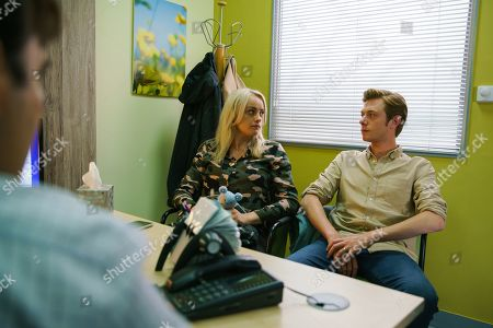 Ep 9872 Wednesday 11th September 2019 - 2nd Ep Sinead Tinker, as played by Katie McGlynn, and Daniel Osbourne's, as played by Rob Mallard, worst fears are realised as the consultant breaks the news that the cancer has spread to her lymph nodes and liver and Sinead has only 3 or 4 months to live.