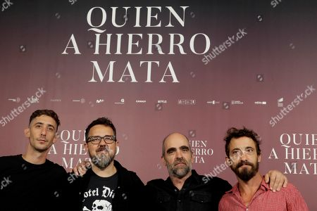 Editorial photo of Luis Tosar interviewed in Madrid, Spain - 27 Aug 2019