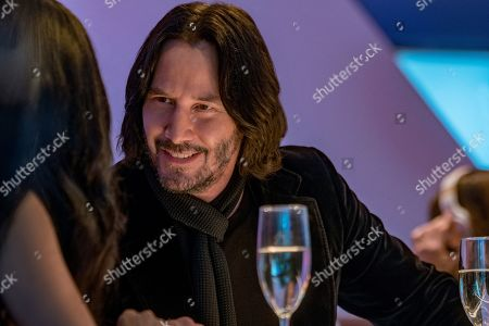 Stock Picture of Keanu Reeves as Keanu Reeves
