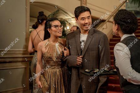 Ali Wong as Sasha Tran and Randall Park as Marcus Kim