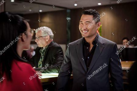 Ali Wong as Sasha Tran and Daniel Dae Kim as Brandon Choi